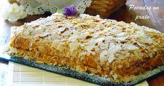 Quando se pretende um bolo especial e fácil, este bolo de massa folhada é com certeza uma boa solução.