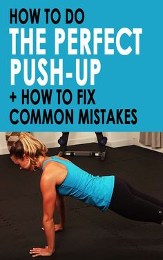 Whether you've done hundreds of push-ups or are just getting started, it's easy to lose sight of your form when doing such a basic move. But poor form can equal some big mishaps: namely an ineffective workout and possible injury. Give yourself a refresher by learning the most common mistakes people make when doing their push-ups, and how you can perfect your own. #pressup #workoutmistakes