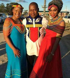 African Men Fashion, Africa Fashion, Ethnic Fashion, Xhosa Attire, African Attire, African Print Dresses, African Dress, African Style, African Traditional Wear