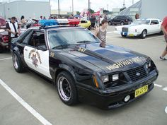 Mustang foxbody ford ssv highway patrol pursuit 1984 fox police