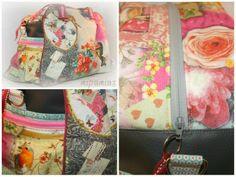 mipamias: Die Kugeltasche, pattern by farbenmix.de, #taschenspieler2 #taschen #nähen #farbenmix #sewing #diy #bags