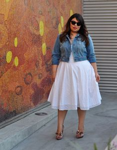 Dress and denim