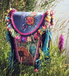 Great Flower Power hippie bag!