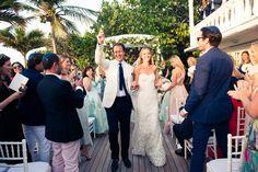 A look at Lila McKean Warburton and Daniele Benatoff's wedding in St. Barth's.