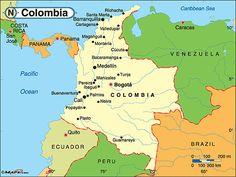Colombia está situada en el sur de América. Tiene cierta mala fama como destino turístico debido a los continuos enfrentamientos entre la guerrilla de las FARC, los paramilitares y el ejército colombiano. Por si no fuera suficiente, grupos de narcotraficantes operan en el país.     En realidad el turismo internacional es principalmente de tránsito, debido a los numerosos cruceros que recalan en las ciudades portuarias, principalmente Cartagena de Indias, situada en el litoral caribeño, con…