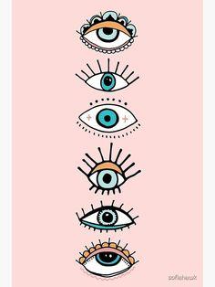Photo Wall Collage, Collage Art, Art Hippie, Evil Eye Art, Eye Illustration, Eyes Wallpaper, Eye Painting, Aesthetic Iphone Wallpaper, Cute Wallpapers