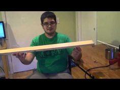 PVC bow flattening jig