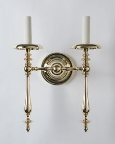 Thelonius Twin Sconce