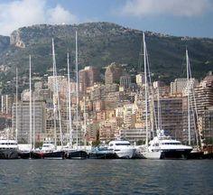 Large Sailing Yachts Med Moored