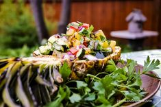 Grilled Pineapple Cucumber On Eyes, Cucumber Seeds, Cucumber Salad, Grilled Fruit, Fresh Lime Juice, Stuffed Hot Peppers, Grilling Recipes, Summer Recipes, Pineapple