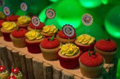 Festa de aniversário   Mesa de doces   Branca de Neve e os Sete Anões   Disney