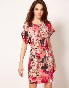 Ted Baker Digital Floral Dress at ASOS