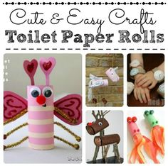 79 Cool Toilet Paper Roll Crafts You NEED TO SEE!