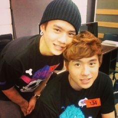 donny <3 and deukie