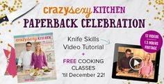 6 Knife Skill Tips You Should Know + Free Online Cooking Classes - Kris Carr is simply the most loving food fairy