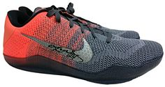 e2ee6a9d7348 Sports Integrity 19021 Kobe Bryant Signed Nike - 2 Autographs Kobe XI Elite  Low Top Basketball Shoes - JSA