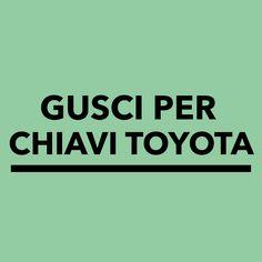 Gusci per Telecomandi Toyota