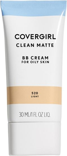 CoverGirl Clean Matte BB Cream provides the perfect amount of coverage to even skin tone, hide blemishes and keep you shine free all day! Tighten Stomach, Tighten Loose Skin, Cc Cream, Bb Cream For Oily Skin, Skin Firming Lotion, Skin Bumps, Extra Skin, Oily Skin Care, Skin Care