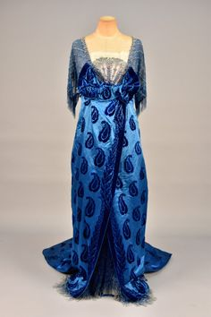 Worth evening dress ca. 1914 From Whitaker Auctions