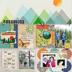 Adventure - bundle by Lynne-Marie Bedrock by Dawn Inskip Cord Crazy Bundle by Kim Jensen Arboretum {Folio} by Sara Gleason