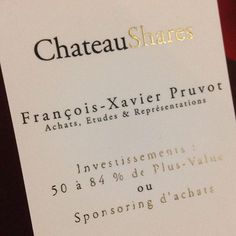 #chateaushares