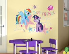 My Little Pony   Best Friends Wall Decal