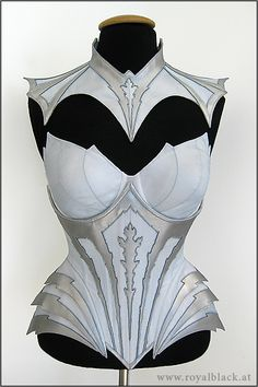 Maybe not the most practical thing to wear to battle but pretty, from Royalblack corsetry