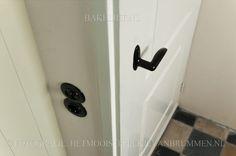 witte deur zwarte klink - Google zoeken