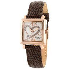 Stuhrling Original Women's 253.1145K2 Classique 'Courtly' Diamond Swiss Watch