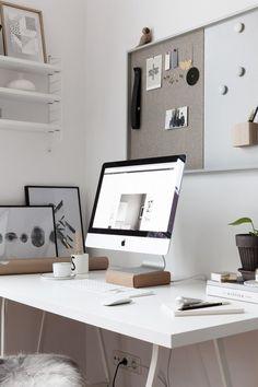 Home Office Setup Workspace Design, Office Workspace, Office Decor, Office Ideas, Office Inspo, Office Setup, Office Chic, Feminine Office, Office Organization