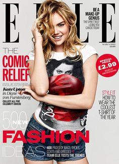 Elle UK - Elle UK March 2015 Covers