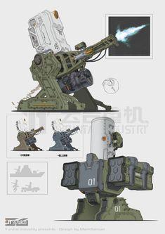 Destroid type defense system