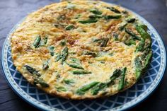 Luke Mangan's Smoked Salmon and Asparagus Frittata Recipe