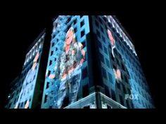 Adam Lambert during American Idol's Top 13 Ford video 'We will rock you'