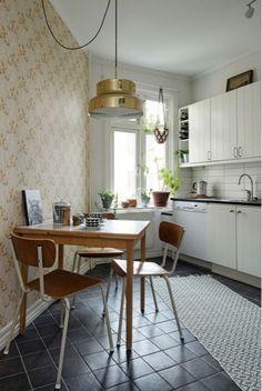 Casinha colorida: Um apartamento sueco com charme e tendências