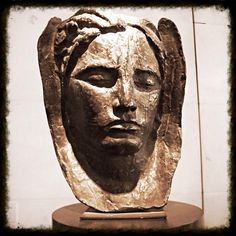 Masque, Antoine Bourdelle (1861-1929) #masque #sculpteur #antoinebourdelle Le Corbusier, Antoine Bourdelle, French Sculptor, Henri Cartier Bresson, Web Instagram, French Photographers, Candid Photography, French Artists, Bronze Sculpture