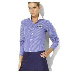 97f3fc08e269b4 Ralph Lauren Coton Shirt Femme bleu