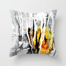 Nr. 457 Throw Pillow