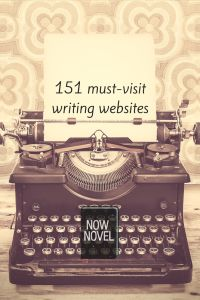 #writing websites. Tell me in the blog comment section if there are any more I should add: http://www.nownovel.com/blog/151-important-novel-writing-resources/