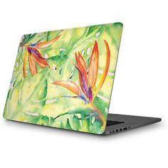 Floral Tropics MacBook Skin. Shop now at www.skinit.com #summer #palmleaves #macbook #laptop #macbookskin #laptopskin