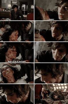 The 100~ None of us is innocent. Jasper~maya