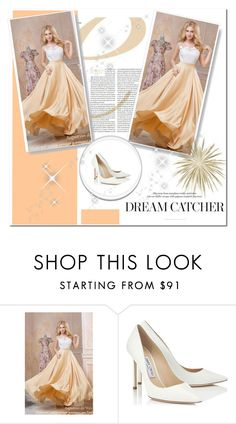 """Untitled #175"" by hasiba678 ❤ liked on Polyvore featuring Jimmy Choo"