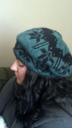Fair isle beret