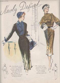 Rhonda's Creative Life: Search results for Modes Royale Vintage Dress Patterns, Vintage Dresses, Vintage Outfits, Timeless Fashion, Retro Fashion, Vintage Fashion, Vintage Style, Patron Vintage, 20th Century Fashion