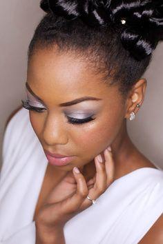 Maquiagem para noivas - negras