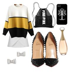 """""""Untitled #41"""" by supemrs on Polyvore featuring Christian Louboutin and Marc by Marc Jacobs"""