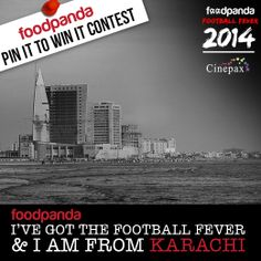 Re-pin this image if you are from #Karachi! #foodpandaFootballFever #PinItToWinIt
