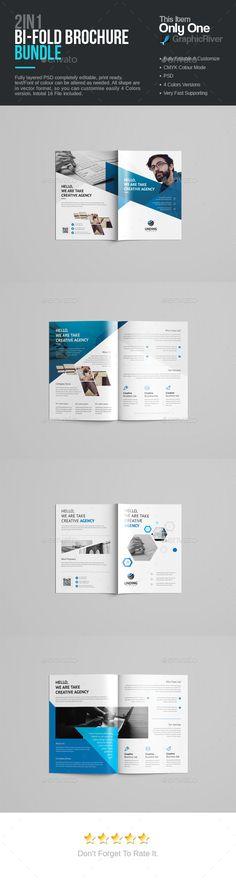 Company Profile Brochure 14 Pages A4 Folletos, Diseño y Cartas - company business profile template