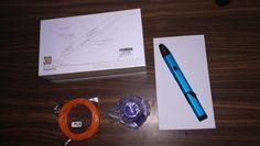 Aluminium Stift mit LED Display für PLA Filamentvon Tipeye im Test 3d Pen, Led, Aluminium, Display, Doodles, Handmade, Kids, Floor Space, Billboard