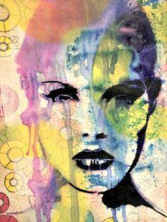 ***Journal Artista***: StencilGirl Andrea Matus deMeng Blog Hop. Art Journal pages with a StencilGirl stencil.